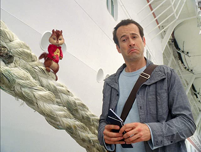 Jason Lee in Alvin and the Chipmunks: Chipwrecked (2011)