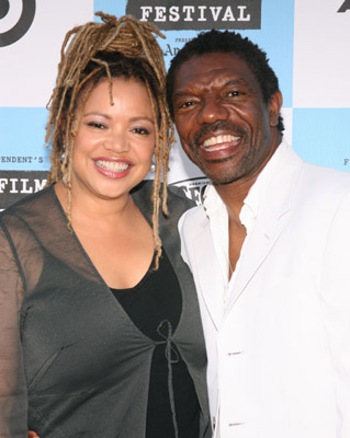 Vondie Curtis-Hall and Kasi Lemmons at Talk to Me (2007)