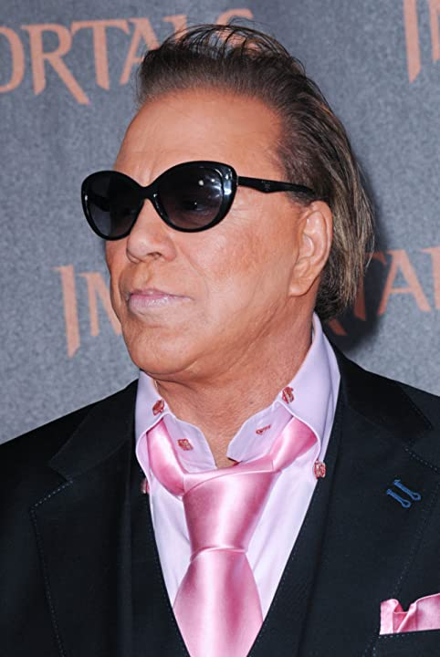 Mickey Rourke at Immortals (2011)