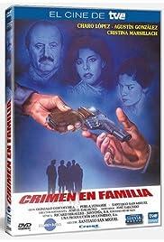 Crimen en familia Poster
