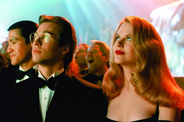 Nicole Kidman and Val Kilmer in Batman Forever (1995)