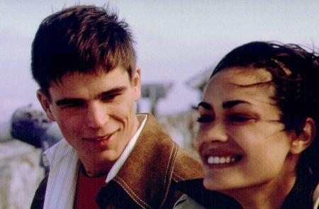 Josh Hartnett and Shannyn Sossamon in 40 Days and 40 Nights (2002)