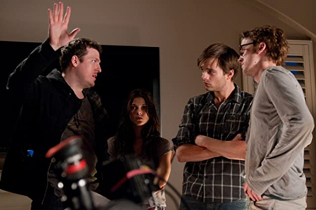 Tom Felton, Todd Lincoln, Sebastian Stan, and Ashley Greene in The Apparition (2012)