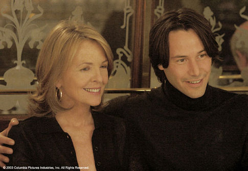 Keanu Reeves and Diane Keaton in Something's Gotta Give (2003)