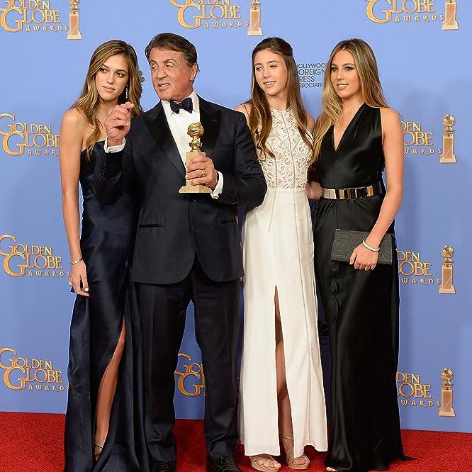 Sylvester Stallone, Sophia Rose Stallone, Sistine Rose Stallone, and Scarlet Rose Stallone