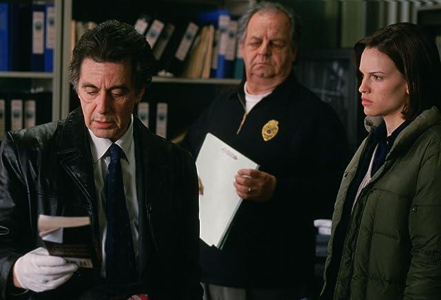 Al Pacino, Hilary Swank, and Paul Dooley in Insomnia (2002)