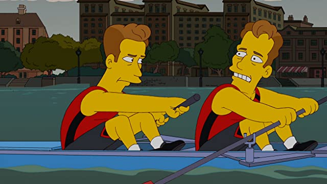 Armie Hammer in The Simpsons (1989)
