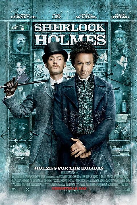 Jude Law and Robert Downey Jr. in Sherlock Holmes (2009)