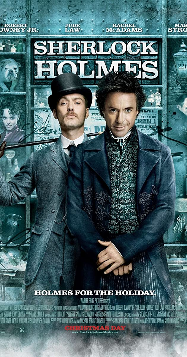 Sherlock Holmes Movie Trailer And Review