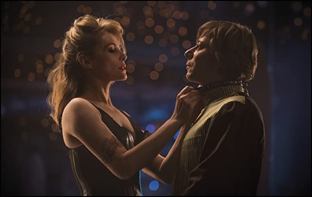 Mathieu Amalric and Emmanuelle Seigner in Venus in Fur (2013)