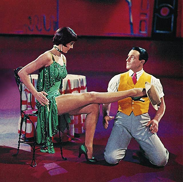 Gene Kelly and Cyd Charisse in Singin' in the Rain (1952)