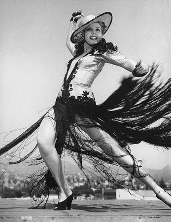 Ann Miller Circa 1948
