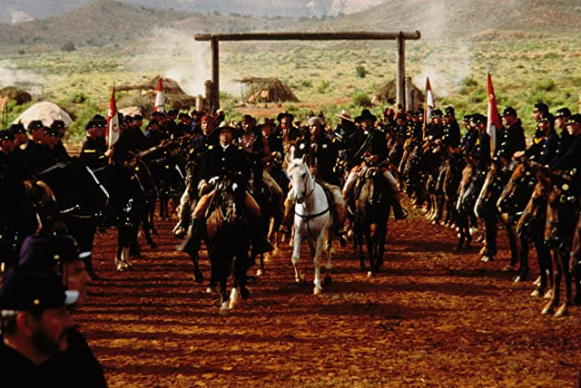 Jason Patric and Wes Studi in Geronimo: An American Legend (1993)