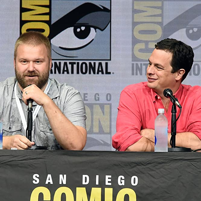 David Alpert and Robert Kirkman at an event for The Walking Dead (2010)