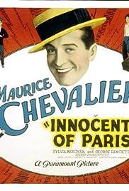 Innocents of Paris Poster