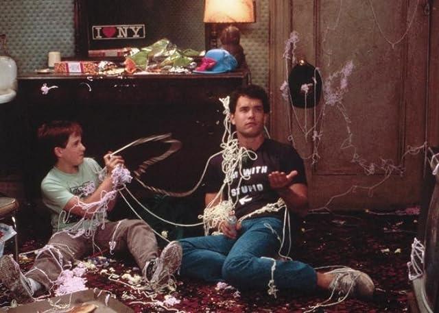 Tom Hanks and Jared Rushton in Big (1988)