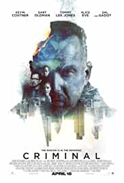 Criminal (2016) BluRay 720p 1.1GB Hindi DD 5.1 MKV