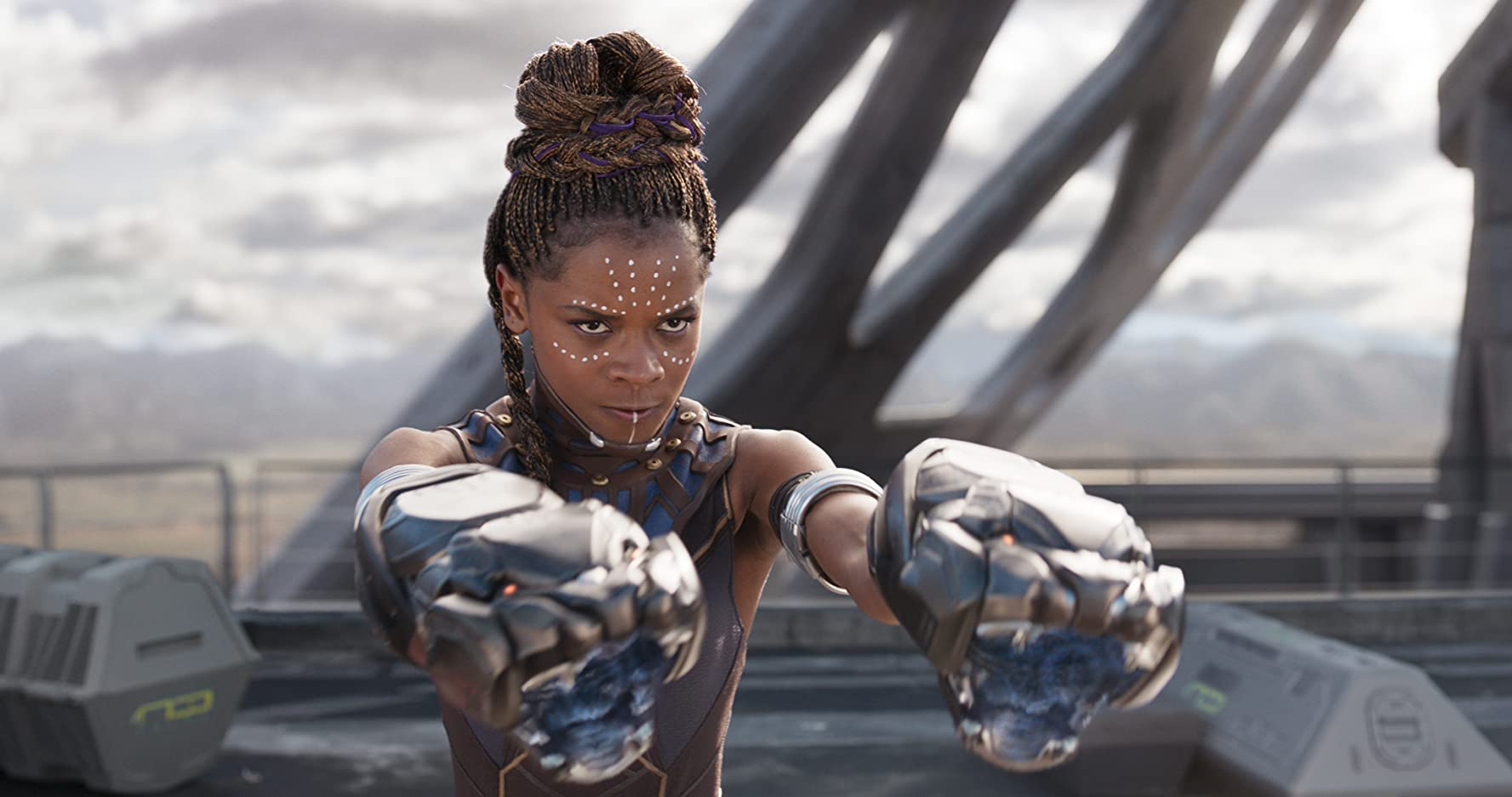 Letitia Wright in Black Panther (2018)