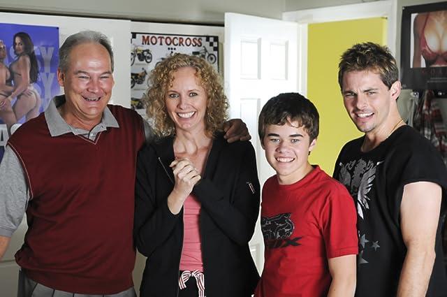James Marsden, Kim Ostrenko, Brett Rice, and Cole Petersen in Sex Drive (2008)