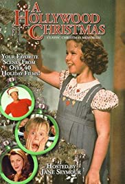 A Hollywood Christmas Poster