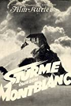 Image of Storm Over Mont Blanc