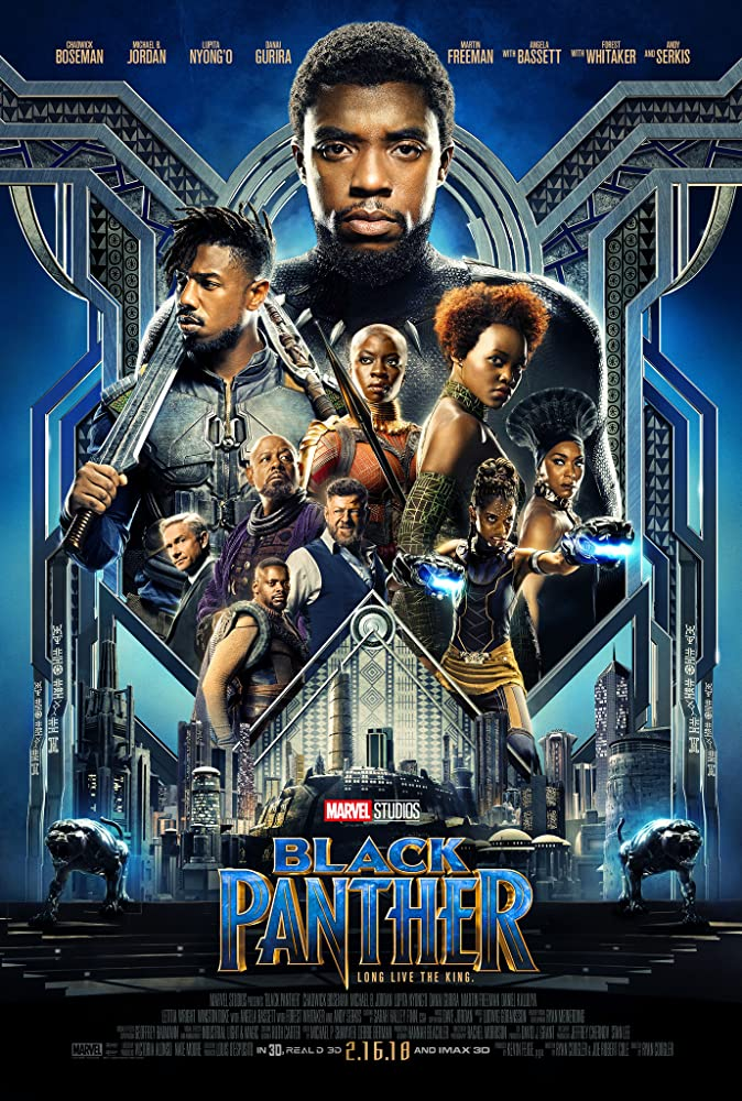 """Black Panther"" movie poster"