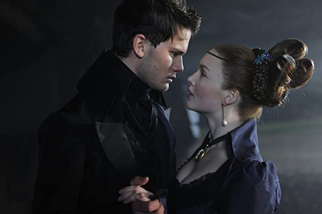 Holliday Grainger and Jeremy Irvine in Great Expectations (2012)