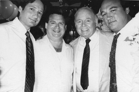 Duchovny, O'Malley, O'Conner and Belushi