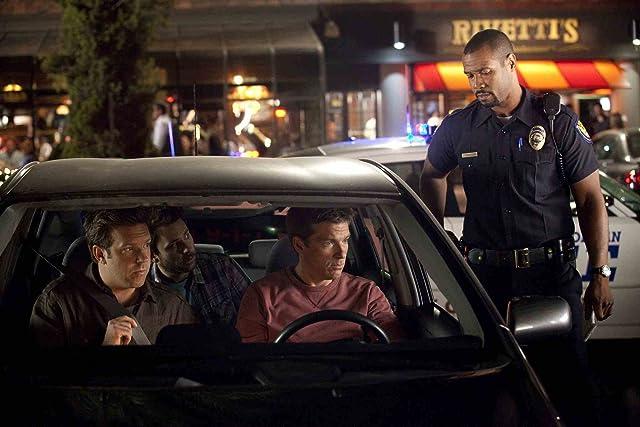 Jason Bateman, Charlie Day, Jason Sudeikis, and Isaiah Mustafa in Horrible Bosses (2011)