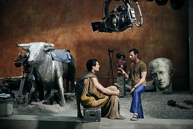 Henry Cavill and Tarsem Singh in Immortals (2011)