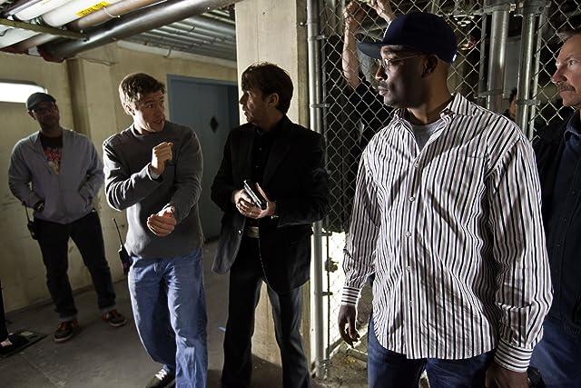 Billy Bob Thornton, Darrin Prescott, and George Tillman in Faster (2010)