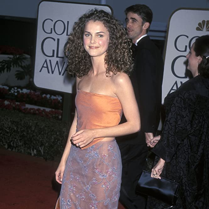 Keri Russell at an event for The 56th Annual Golden Globe Awards (1999)