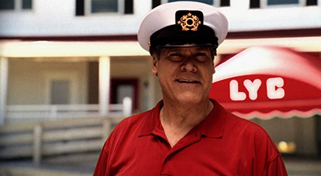 The Commodore (Jay O. Sanders) surveys the lay of the land at the Lavallette Yacht Club.