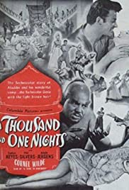 A Thousand and One Nights (1945) Poster - Movie Forum, Cast, Reviews