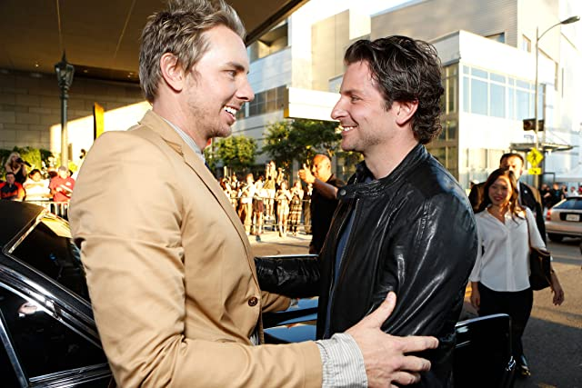 Bradley Cooper and Dax Shepard at Hit and Run (2012)