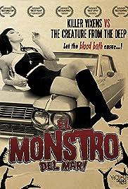 El monstro del mar! Poster