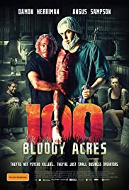 100 Bloody Acres (2012) Poster - Movie Forum, Cast, Reviews