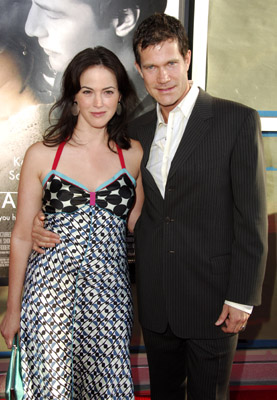 Joanna Going and Dylan Walsh at The Lake House (2006)
