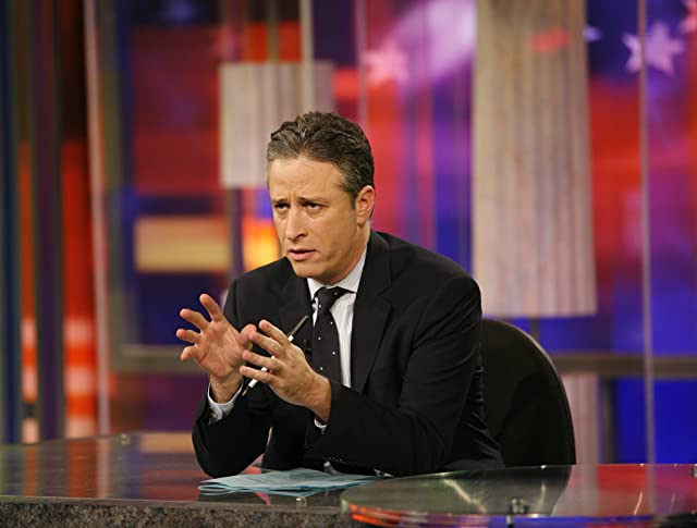 Jon Stewart in The Daily Show (1996)