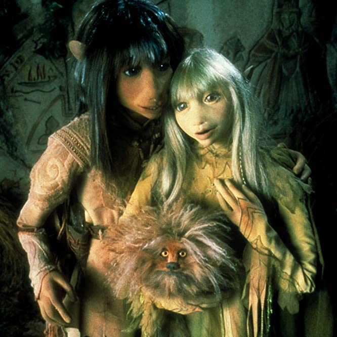 Jim Henson, Dave Goelz, and Kathryn Mullen in Dark Crystal (1982)