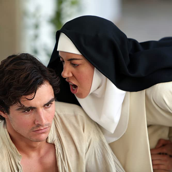 Dave Franco and Aubrey Plaza in The Little Hours (2017)