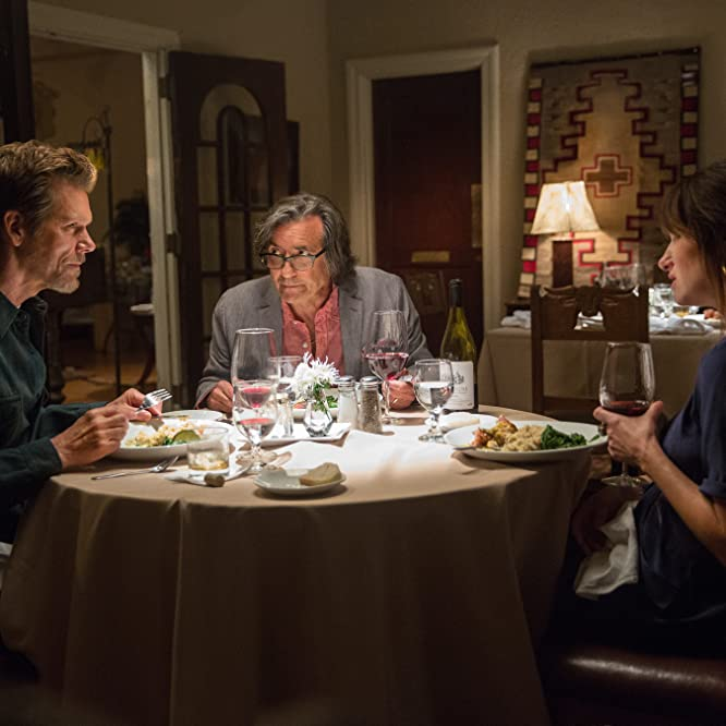 Kevin Bacon, Griffin Dunne, and Kathryn Hahn in I Love Dick (2016)