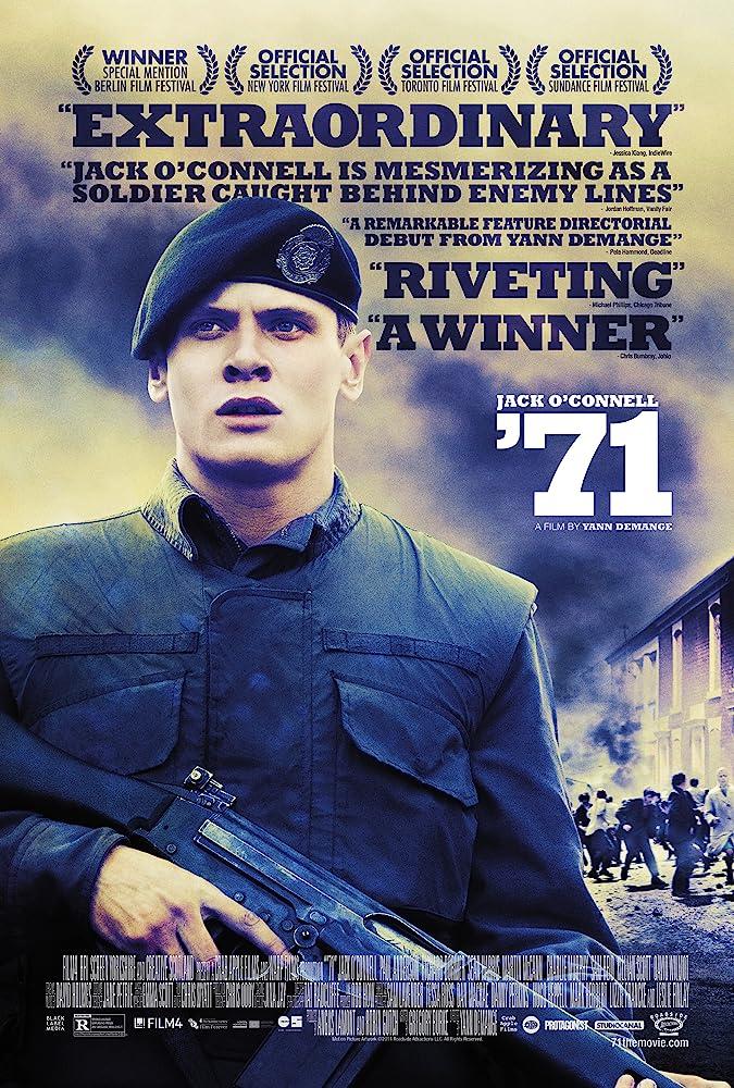 '71 Affiche du film