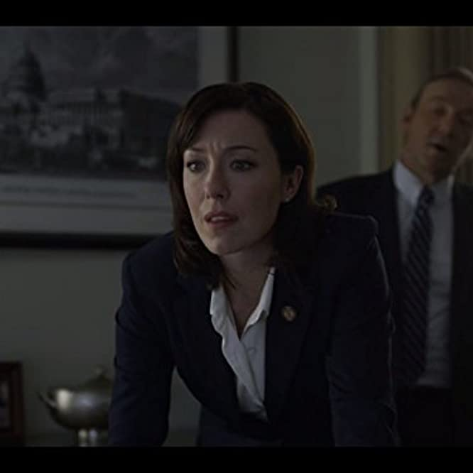 Kevin Spacey and Molly Parker in House of Cards (2013)