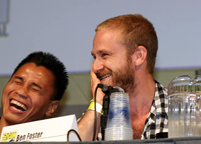 Ben Foster and Cung Le at an event for Pandorum (2009)