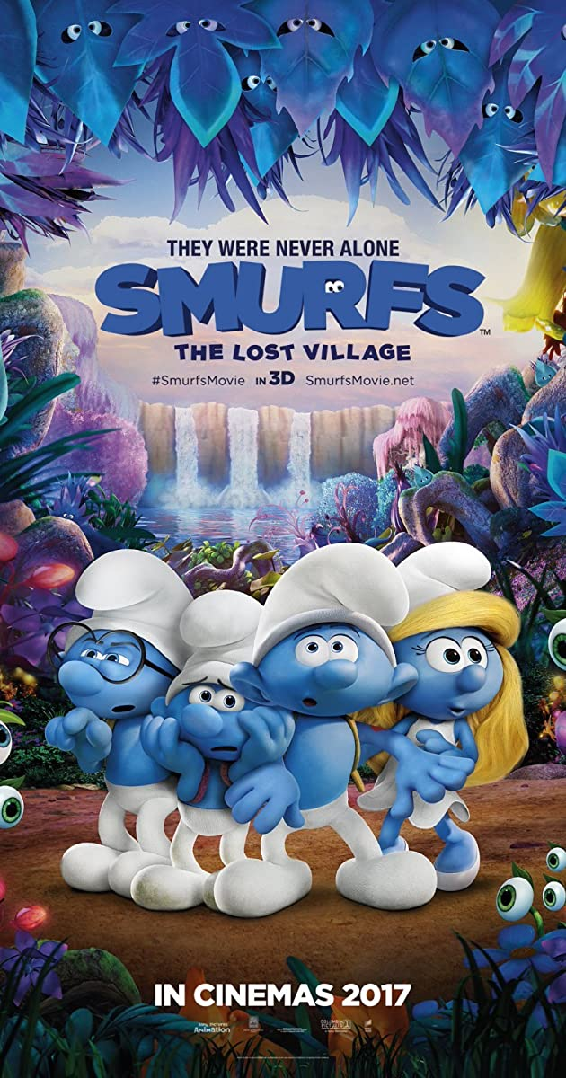 Smurfai: Pamirštas kaimelis / Smurfs: The Lost Village (2017)
