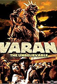 Varan the Unbelievable Poster