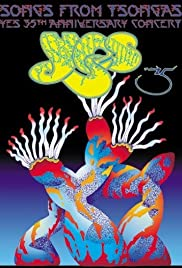 Songs from Tsongas: Yes 35th Anniversary Concert Poster
