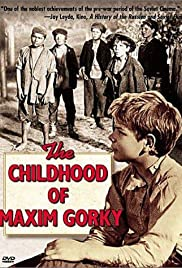 The Childhood of Maxim Gorky Poster