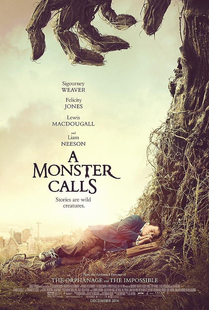 poster a monster calls